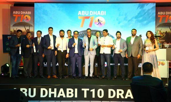 إعلان قرعة دوري أبوظبي تي 10 الدولي للكريكيت