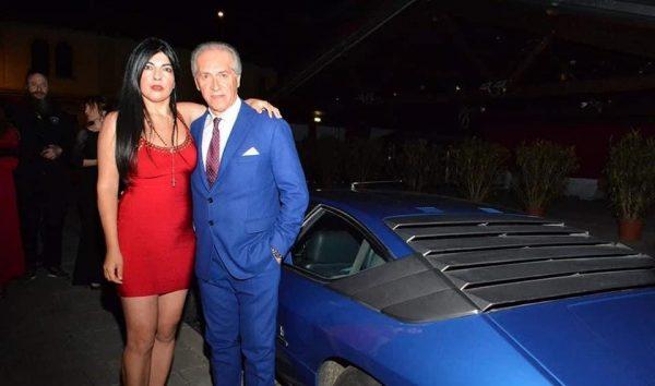 Debora Cattoni celebrates Ferruccio Lamborghini birthday in Dubai