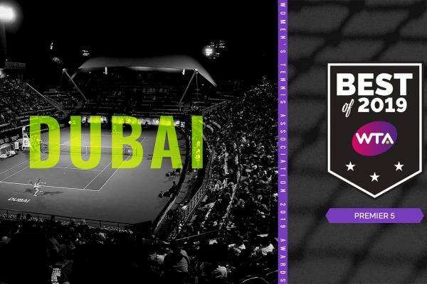 بطولة سوق دبي الحرة لتنس السيدات..أفضل دورة دولية