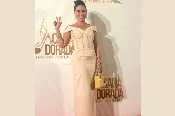 المنتجة بينيديتا بارافيا تشارك في مهرجان كانا دورادا الدولي للسينما والموسيقى