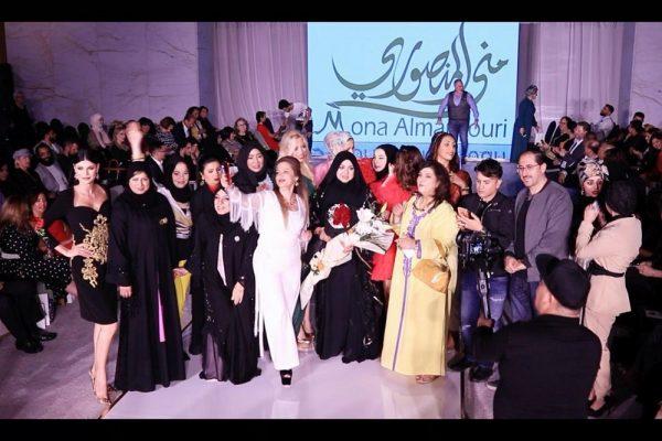 المصممة العالمية منى المنصوري تفتتح اسبوع الموضة الكازاخستاني بدبي