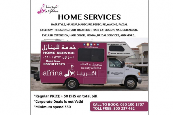 home services from Afrina beauty group