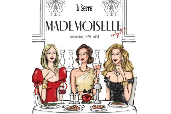 Mademoiselle Night launches at La Serre Bistro